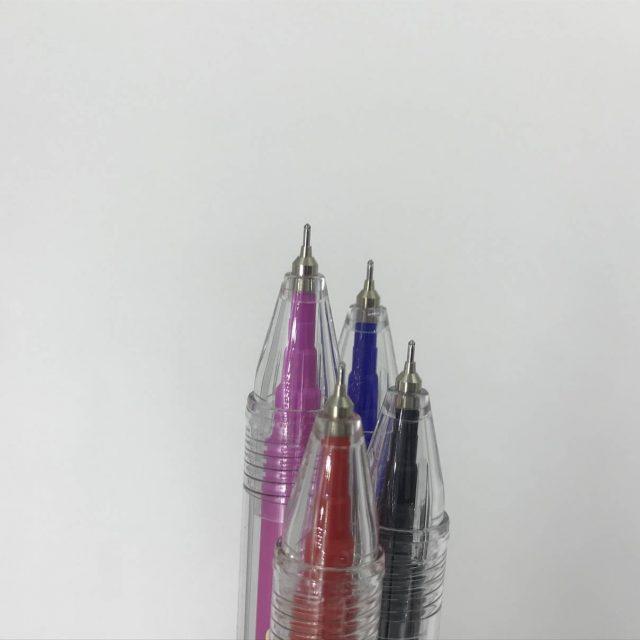 こすって消せるニードルボールペン 0.4㎜
