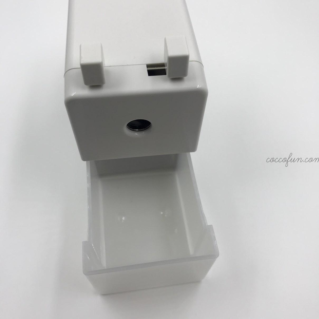 無印良品の手動式鉛筆削り(小)
