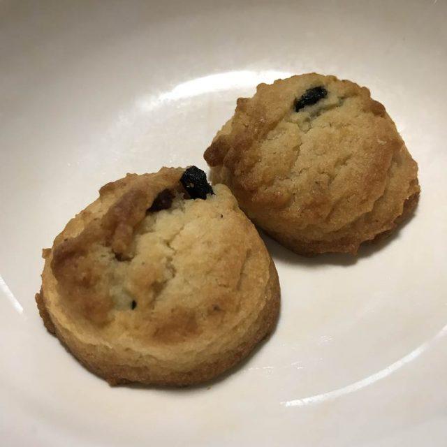 無印良品ぶどうのクッキー