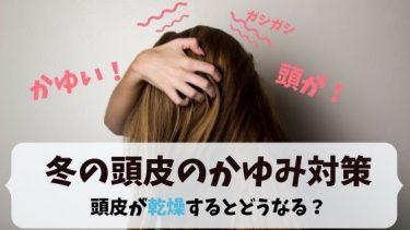 頭皮のかゆみに悩む女性が冬にやりたい頭皮かゆみ対策とは?乾燥しないためにするべきこと