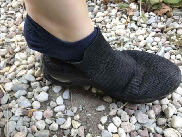 靴を履いても見えない脱げない靴下『ココピタ』を使った口コミ!