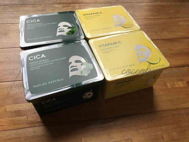 ネイリパ(Nature Republic)シカ・ビタペアマスクパックを使ったガチ口コミ!Qoo10の一押しアイテム